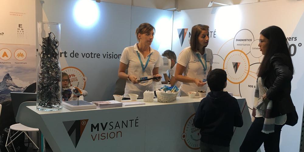 MV Santé Vision au Salon de Santé, du 04 au 07 octobre 2018 au ... fe8aa334c214